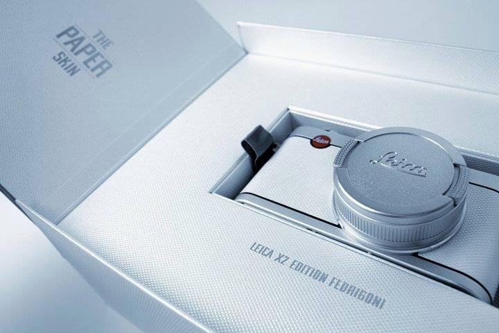 "Leica X2 ""The Paper Skin"" Edition Fedrigoni"