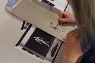 "Lisa Solberg for Jiberish Skate Deck ""Finish Fetish"" Video"