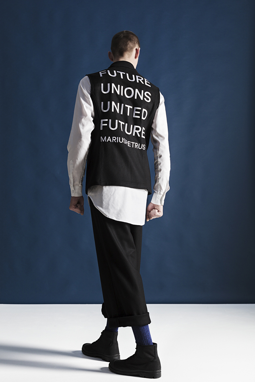 "MariusPetrus 2014 Fall/Winter ""Future Unions, United Future"" Lookbook"