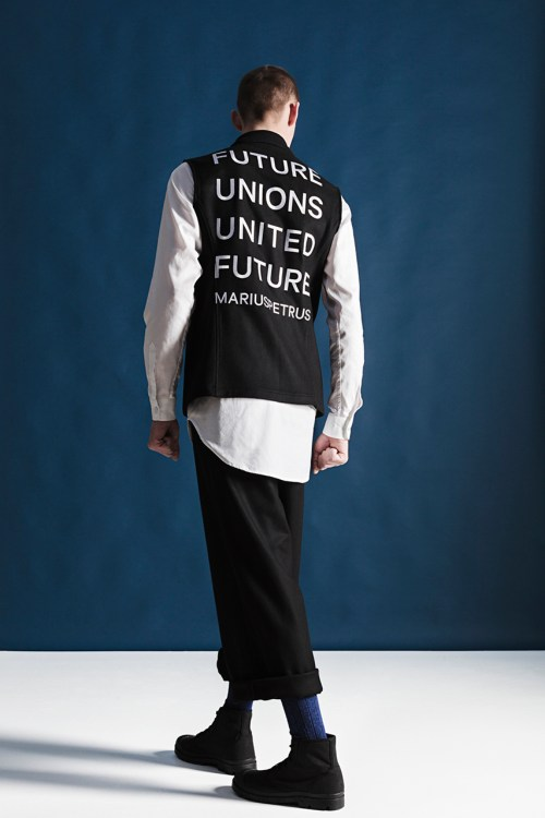 "MariusPetrus 2014 Fall/Winter ""Future Unions, United Future"" Lookbook"