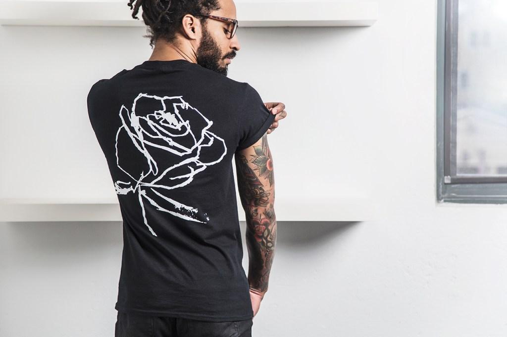 "Markeidric Walker x Wish Atlanta ""Roses"" Black History Month T-shirt Collection"