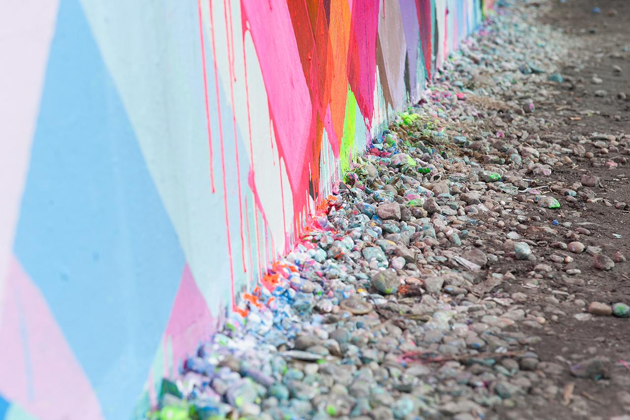 Maya Hayuk's Bowery Mural