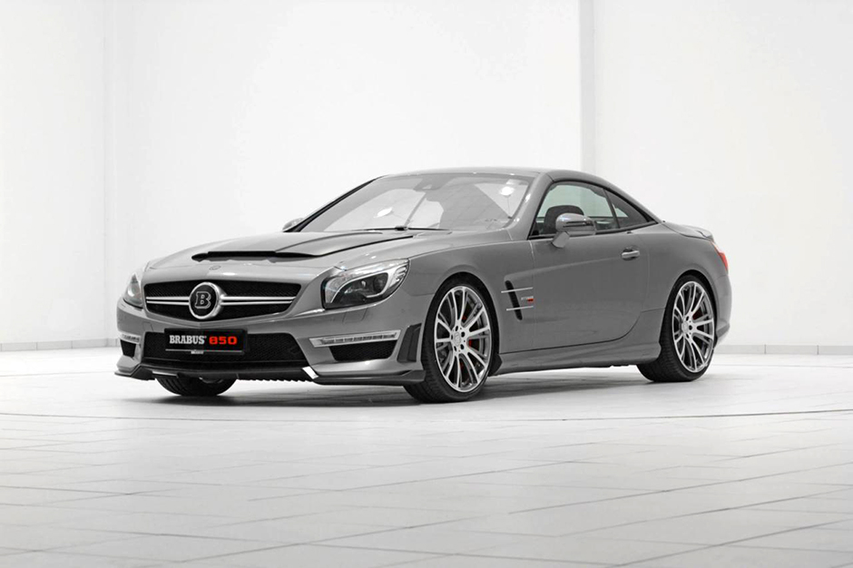 mercedes benz 2013 sl63 amg 850 roadster edition by brabus