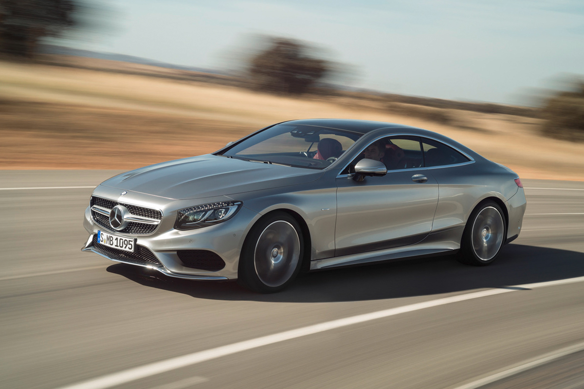 Mercedes-Benz Debuts the 2015 S-Class Coupe