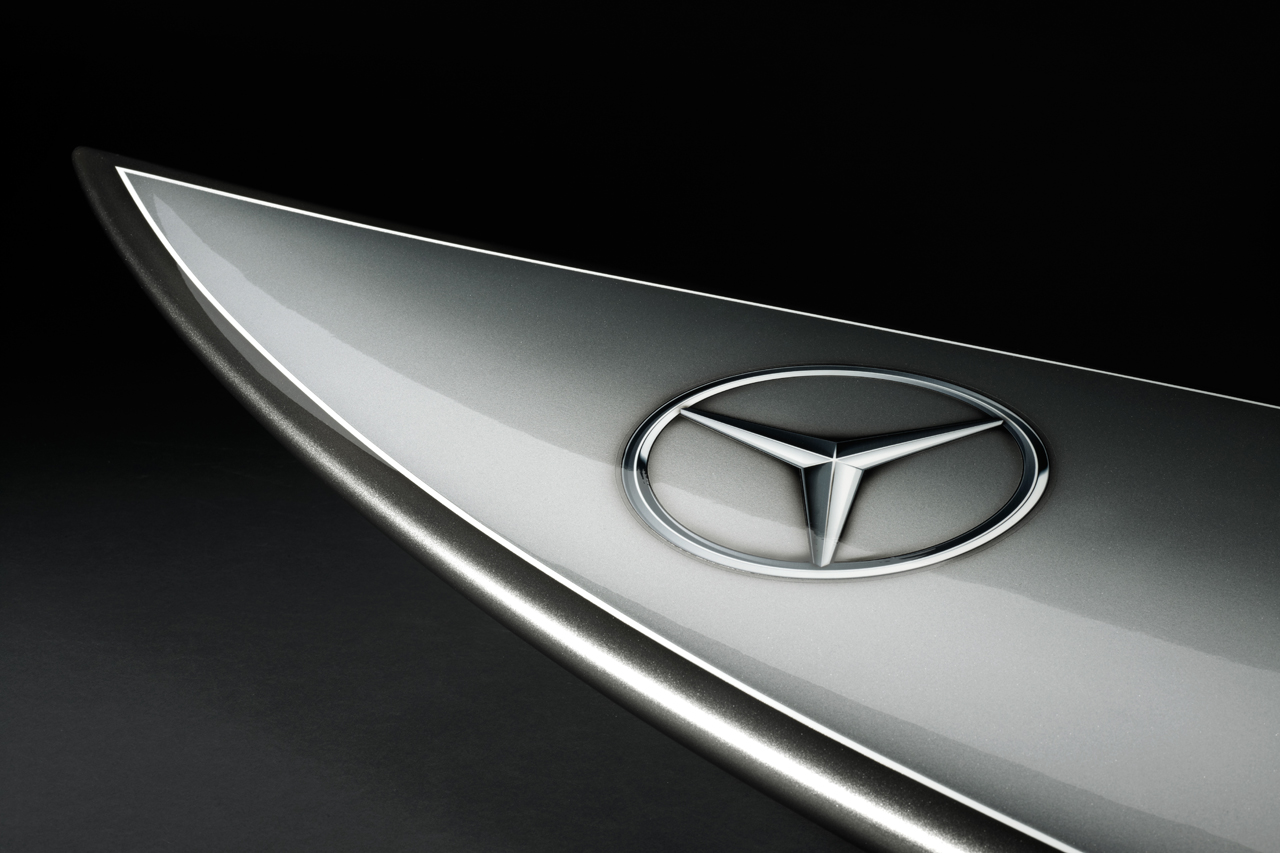 Mercedes-Benz Surfboard for Garrett McNamara