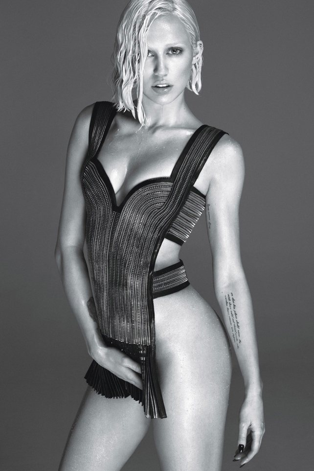 miley cyrus by mert marcus for w magazine