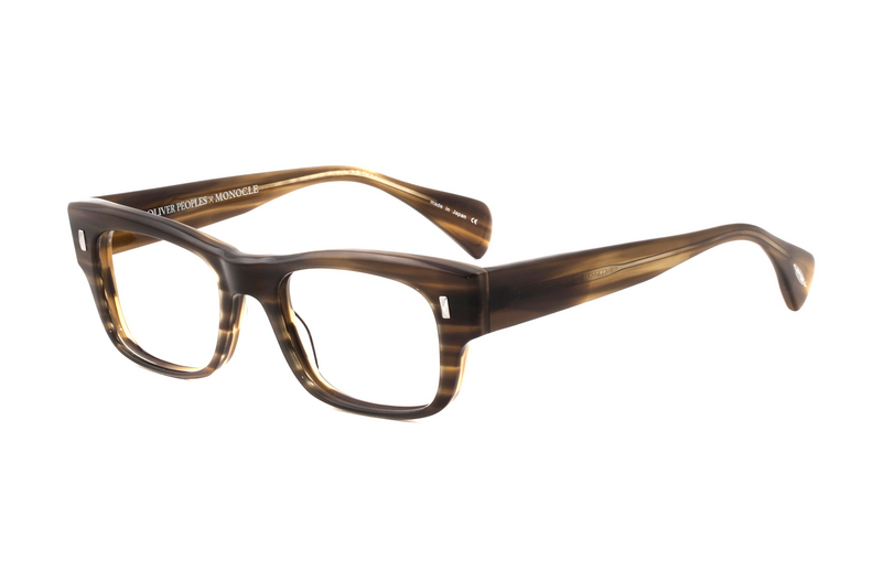 monocle x oliver peoples deacon glasses