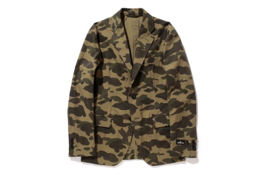 Mr.BATHING APE 1ST CAMO 3 BUTTON JACKET
