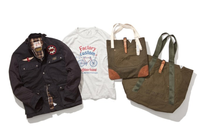 "NEIGHBORHOOD 2014 ""FACTORY CUSTOM"" Collection"