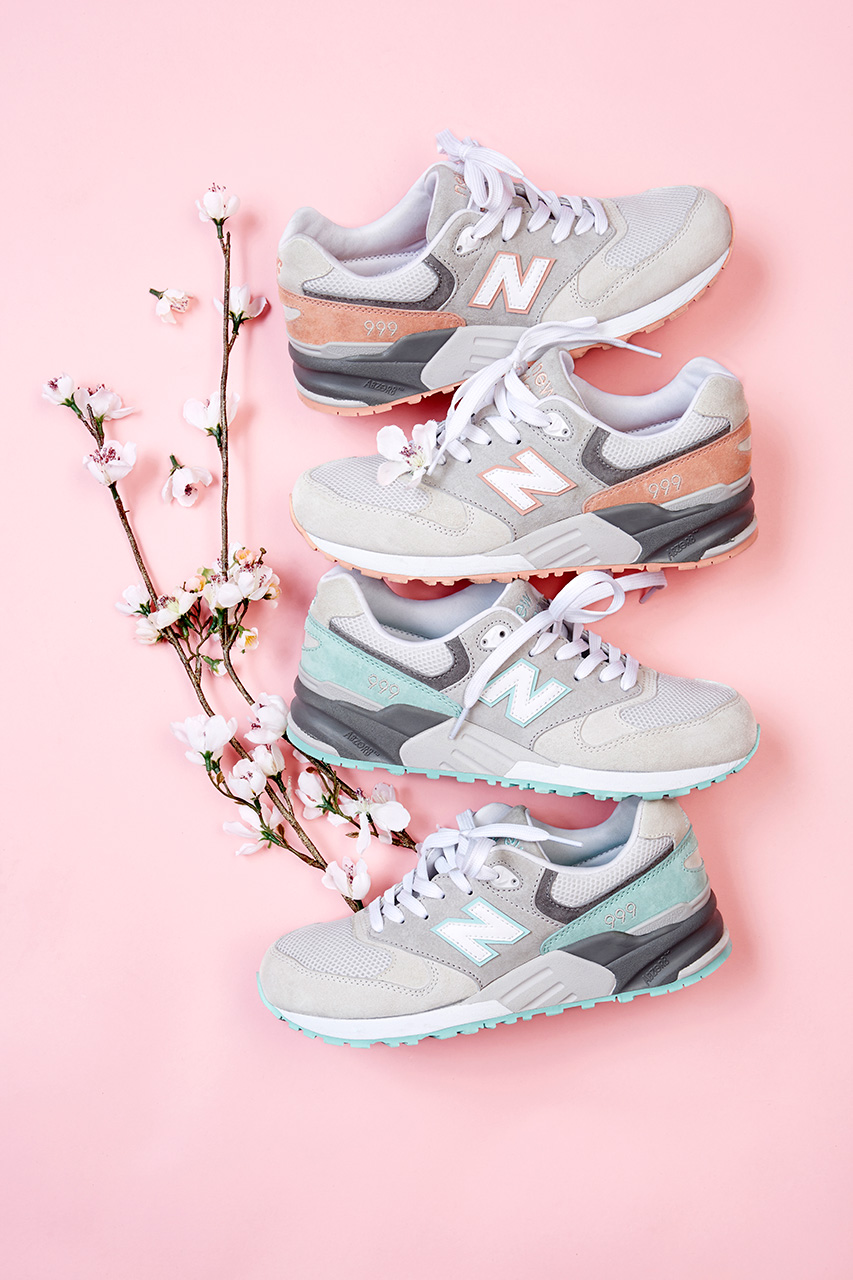 new balance 2014 spring summer ml999 cherry blossom pack