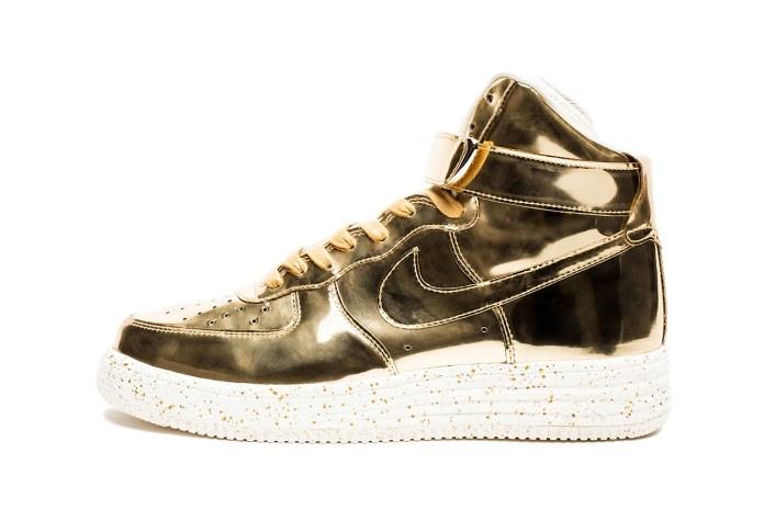 "Nike 2014 Lunar Force 1 High SP ""Liquid Metal"" Pack"