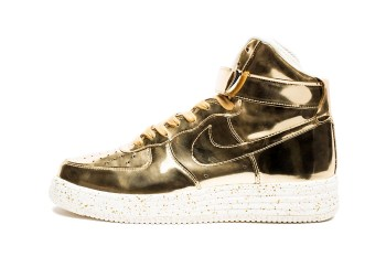 "Nike 2014 Lunar Force 1 High SP ""Liquid Metal"" Pack"