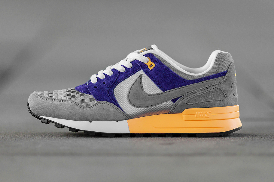 Nike Air Pegasus 89 Woven Wolf Grey/Cool Grey-Court Purple