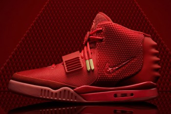 Come and Gone: The All-Red Nike Air Yeezy 2 Drops on Nike.com