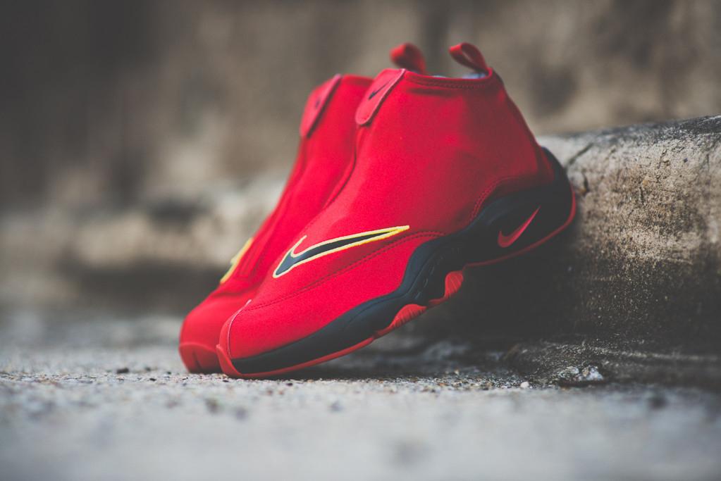 "Nike Air Zoom Flight ""The Glove"" University Red/Black"