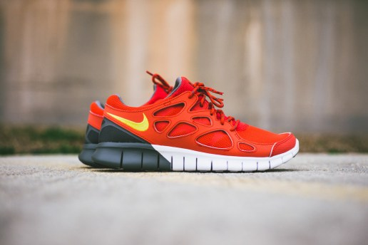 Nike Free Run+ 2 Light Crimson/Grey