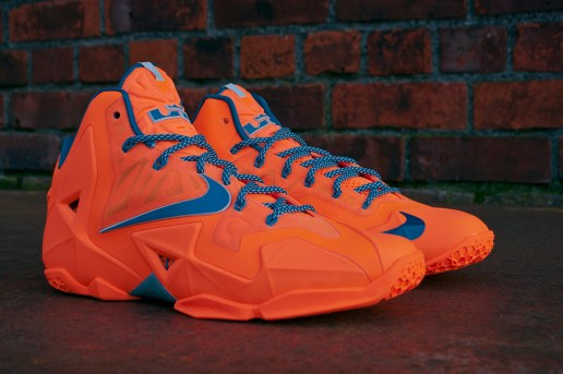 "Nike LeBron 11 ""Atomic Orange"""
