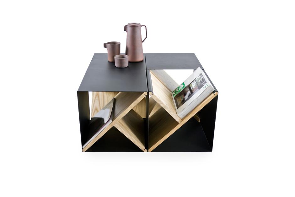 noon studio steel stool