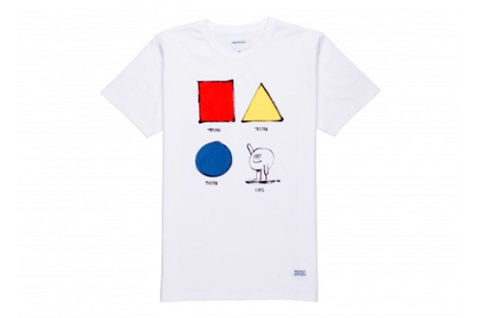 James Jarvis x Norse Projects 2014 Spring/Summer T-Shirt Collection