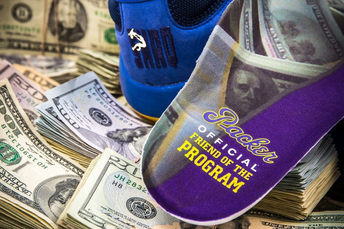 "Packer Shoes x Reebok Shaq Attaq ""Blue Chips"" Teaser"