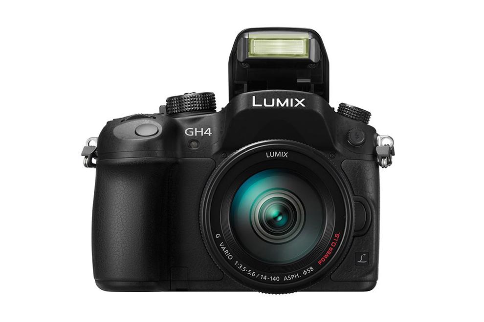 panasonic lumix dmc gh4 mirrorless 4k video camera
