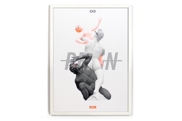 POW! WOW! 2014 x 1xRUN Print Show
