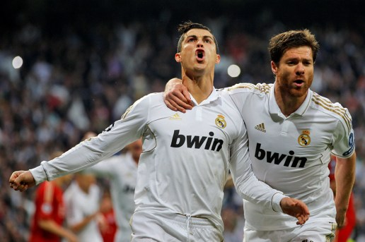 Real Madrid's Xabi Alonso and Cristiano Ronaldo Debate adidas vs. Nike