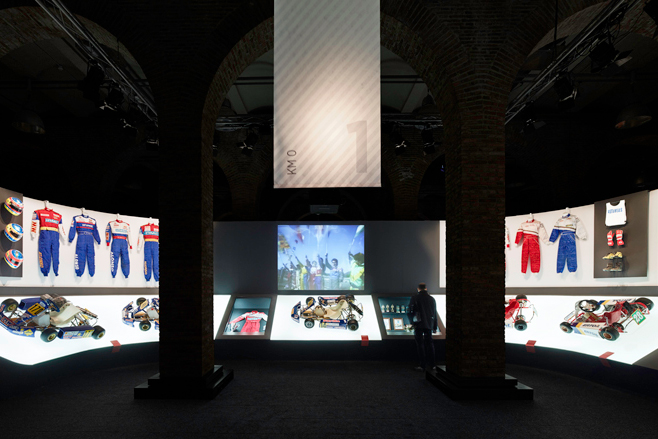 Retrospective Formula 1 Exhibition of Fernando Alonso