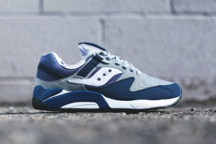 Saucony Grid 9000 Navy/Grey