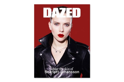 Scarlett Johansson Covers the Redesigned 2014 Spring Issue of DAZED Magazine