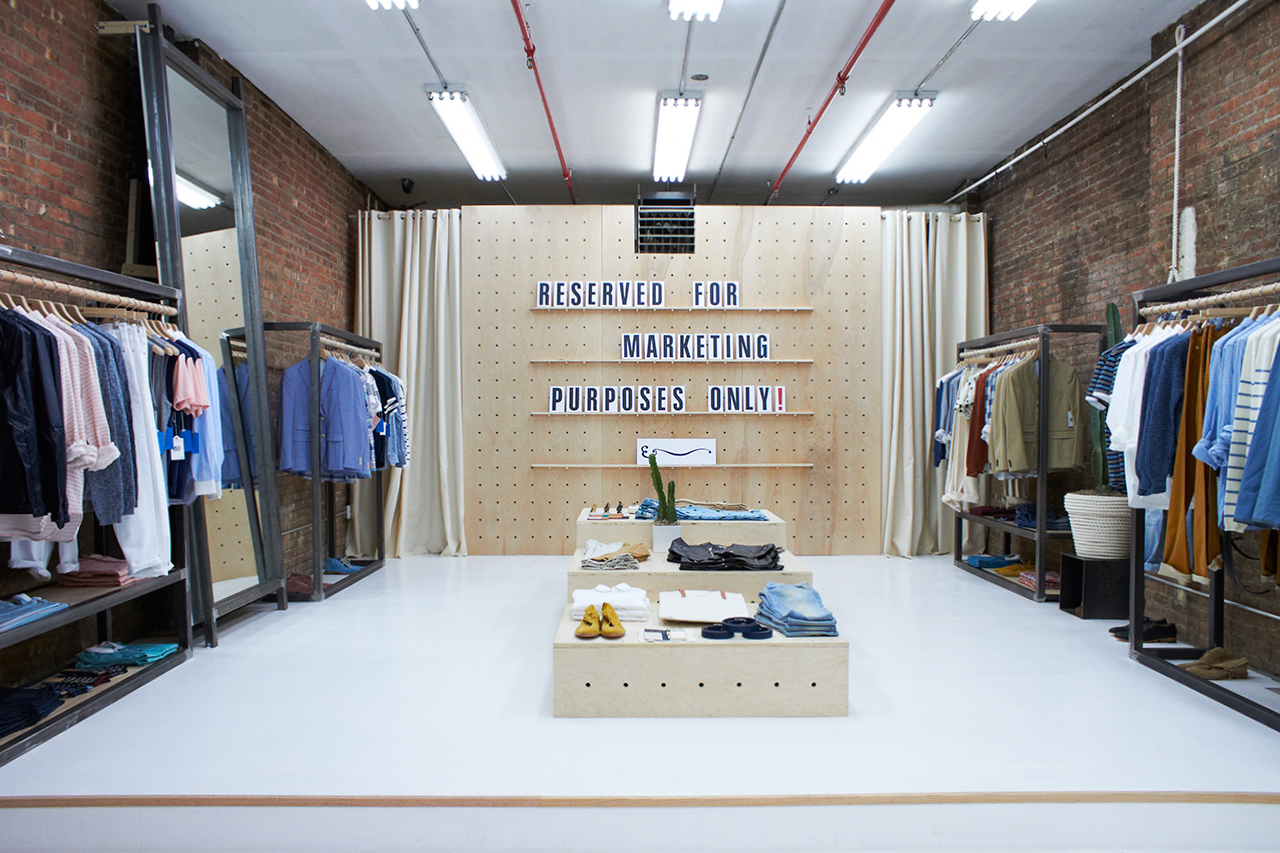 Shipley & Halmos Open Canal Street Pop-Up