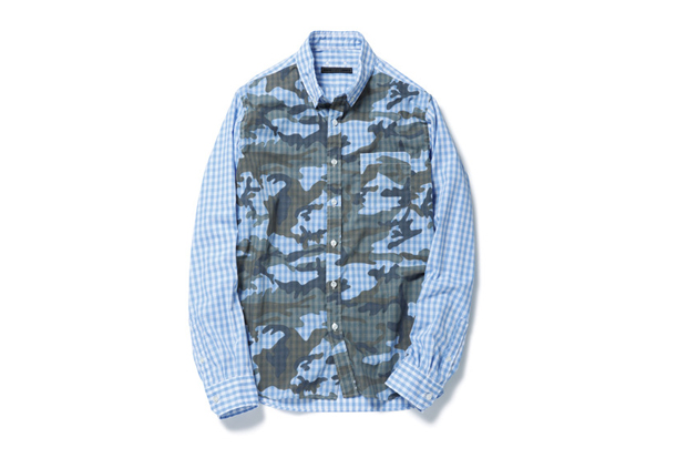 SOPHNET. 2014 Spring/Summer Camouflage Shirt Collection