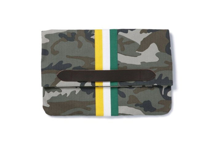 SOPHNET. 2014 Spring/Summer Stripe Clutch Bag