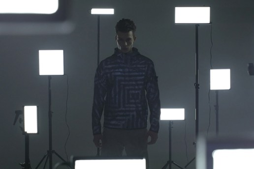 "Stone Island 2014 Spring/Summer ""Lasered Reflex Mat"" Video"