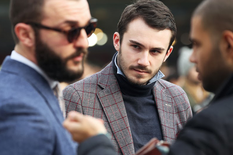 STREETFSN Captures New Trend in Latest Street Style Photos: Popped Collar