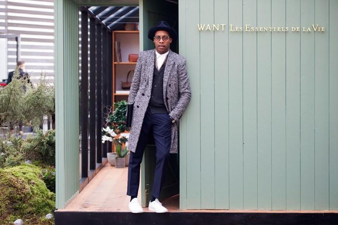Streetsnaps: Dexter Peart of WANT Les Essentiels De La Vie