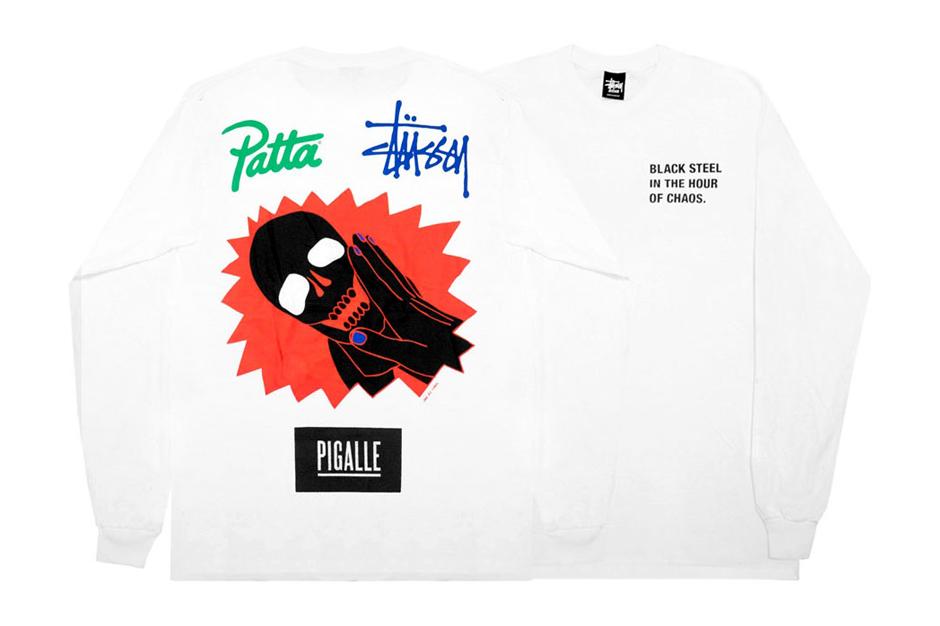 Stussy x Patta x Pigalle 2014 LS T-Shirt
