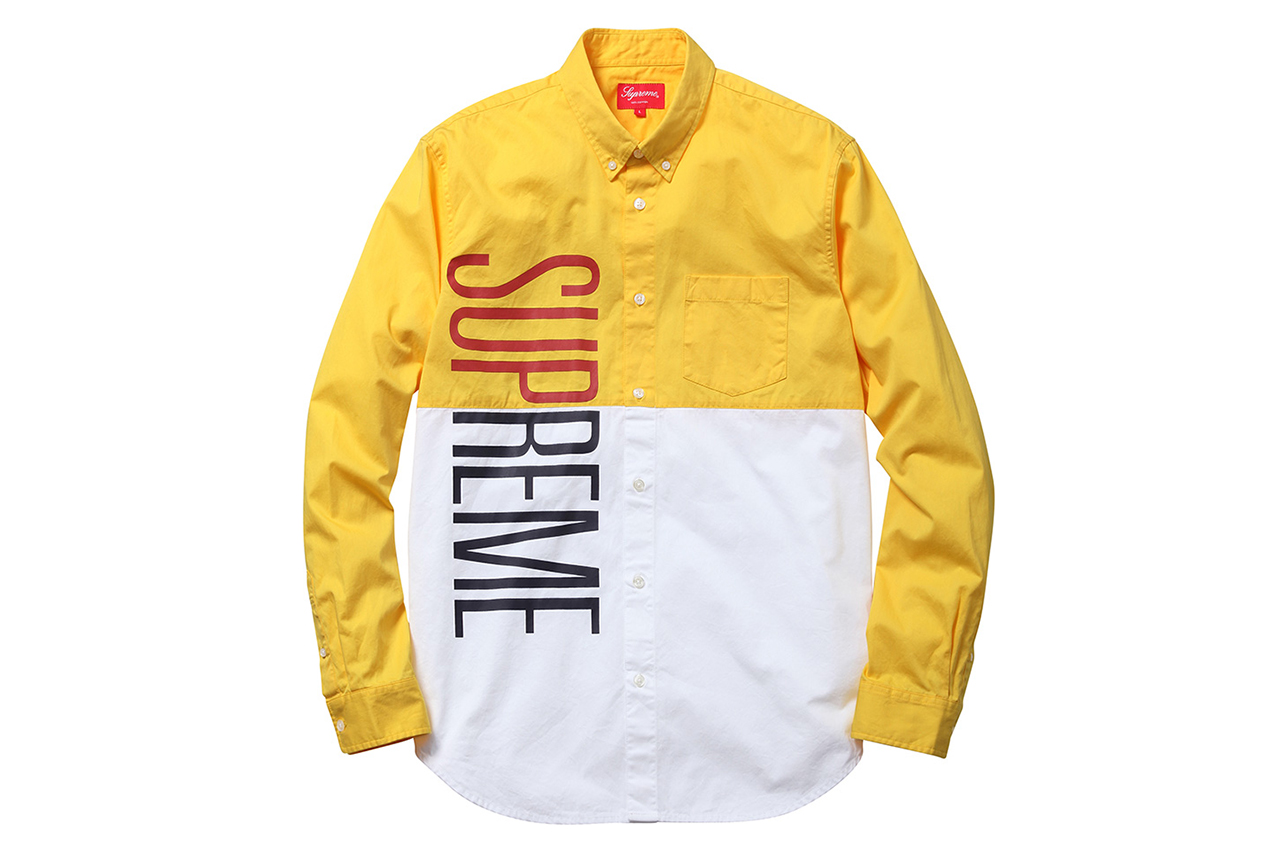 Supreme 2014 Spring/Summer Apparel Collection
