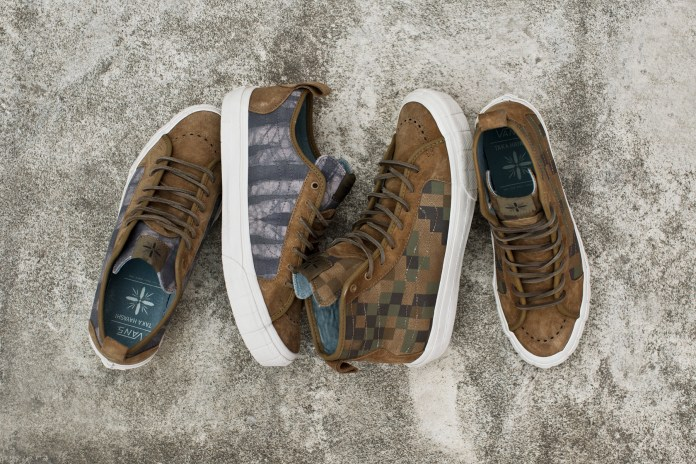 Taka Hayashi x Vans Vault 2014 Spring TH Court Pack