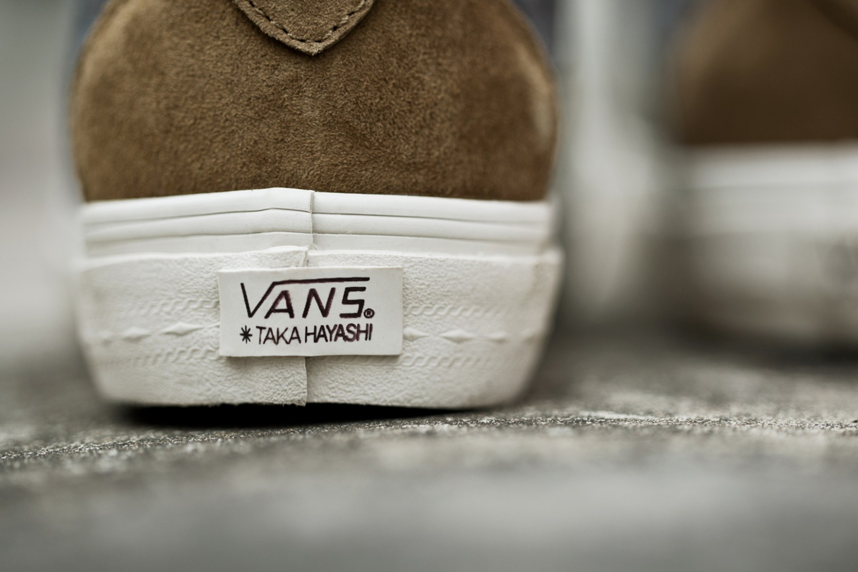 Taka Hayashi x Vans Vault 2014 Spring TH Court Pack