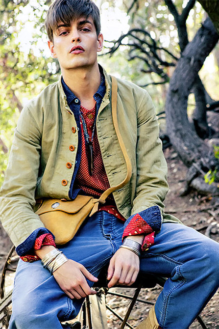 """Text in visvim"" 2014 Spring/Summer Editorial by SENSE"