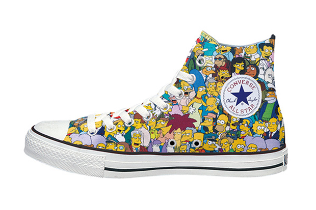 The Simpsons x Converse Japan Chuck Taylor All Star L High
