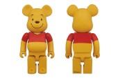 Winnie the Pooh x Medicom Toy 400% Bearbrick