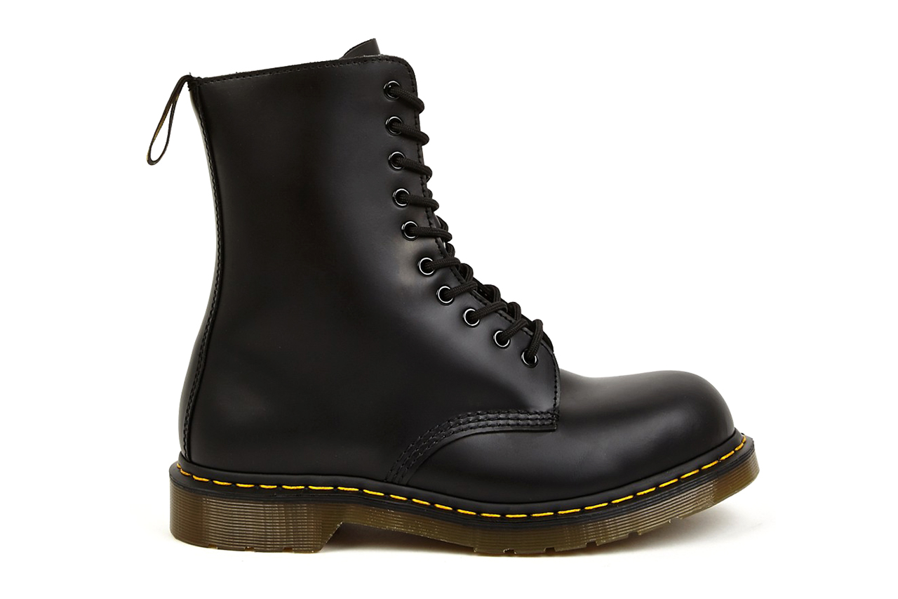 Yohji Yamamoto x Dr. Martens 2014 Spring/Summer 10-Eye Leather Boots