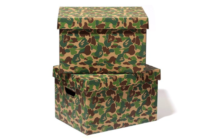 A Bathing Ape ABC STORAGE BOX