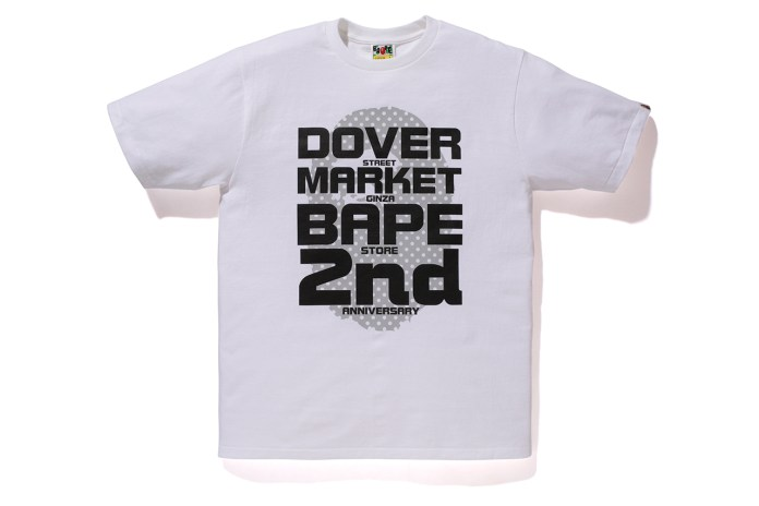 "A Bathing Ape ""DOVER STREET MARKET GINZA 2nd Anniversary"" T-Shirts"