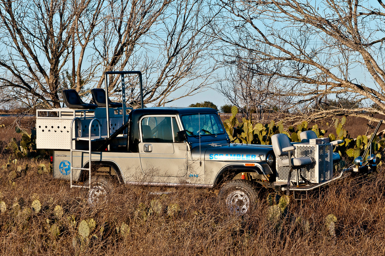 a lokey explores unique hunting rides in texas quail rigs