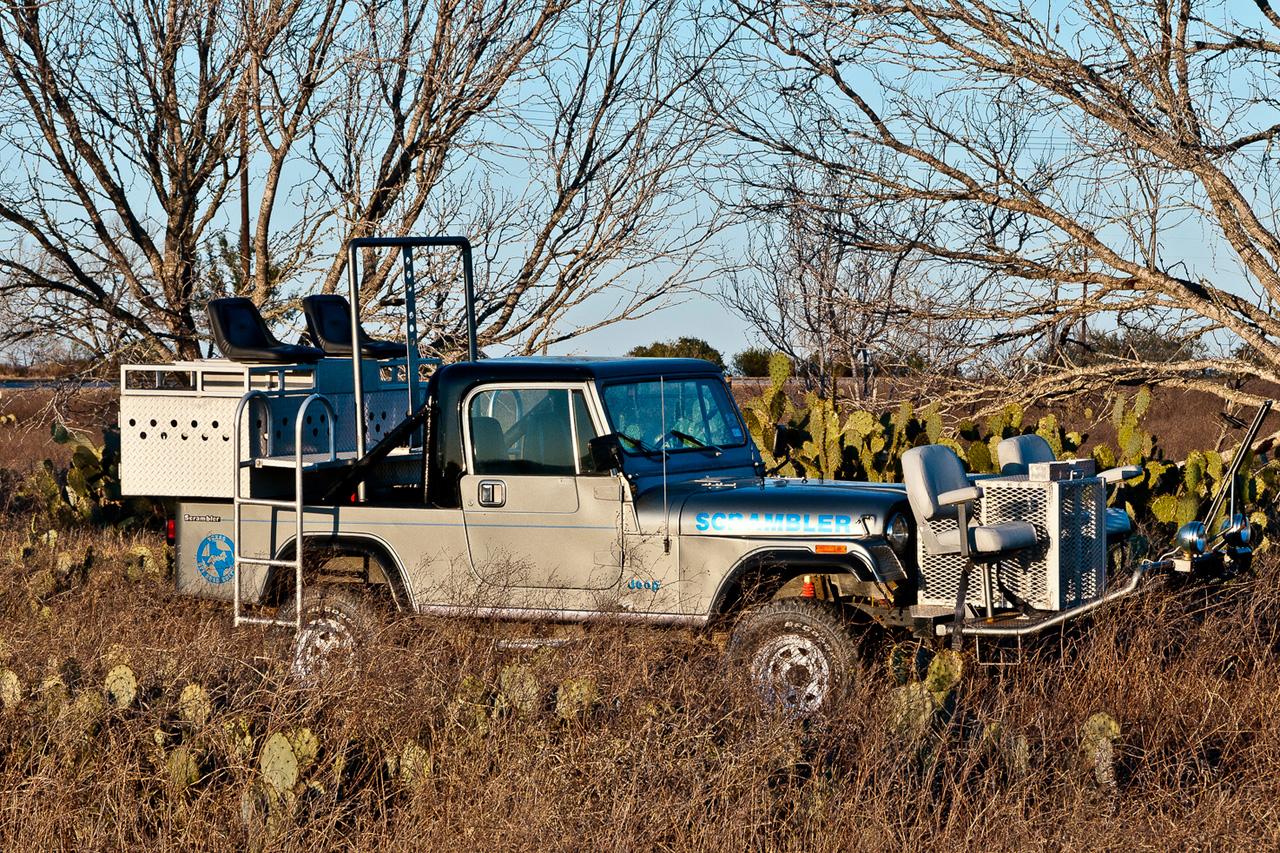 a lokey explores unique hunting rides in texas quail rigs