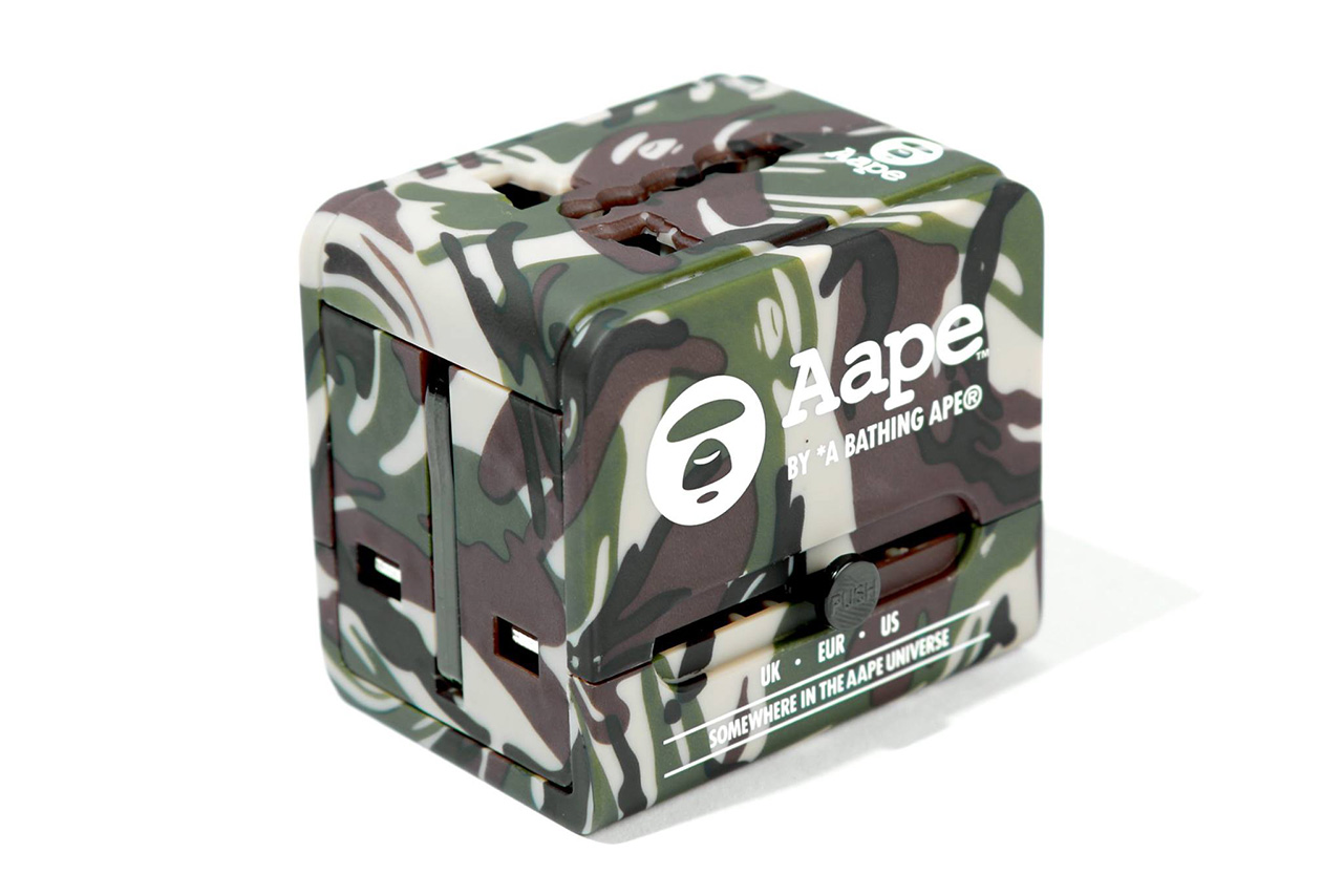 AAPE by A Bathing Ape Travel Adapter