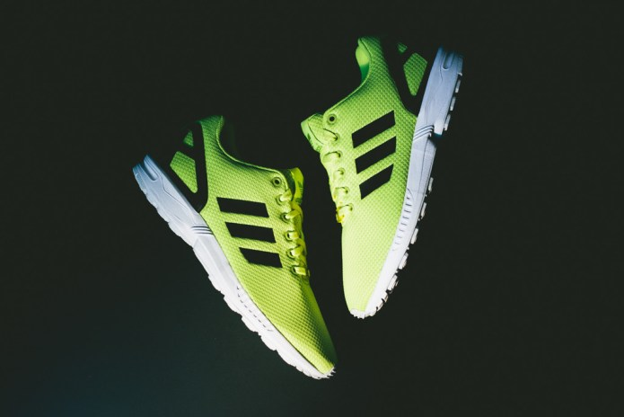 "adidas Originals ZX FLUX ""Electric Yellow"""